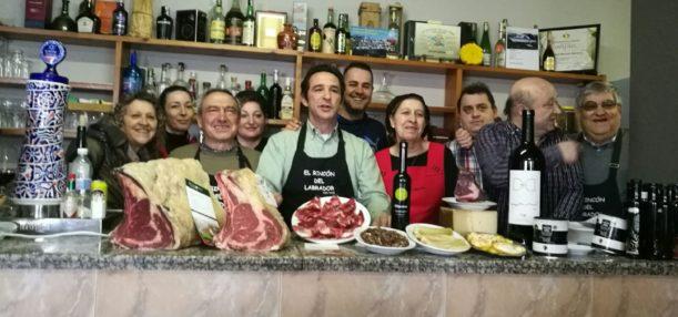 Los buenos amigos gallegos del Peixoto