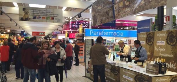 Degustación de los famosos Caracoles de La Santa Espina en Carrefour