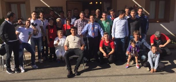 Visita del Real Valladolid Club de Fútbol