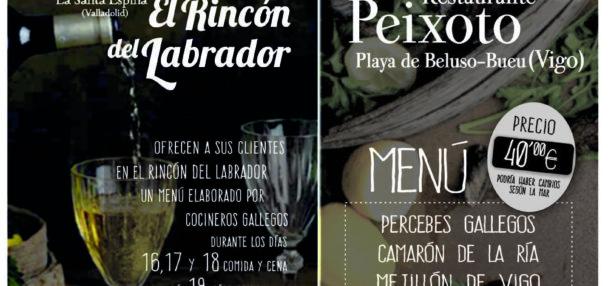 Todo preparado para recibir a los amigos gallegos del Peixoto